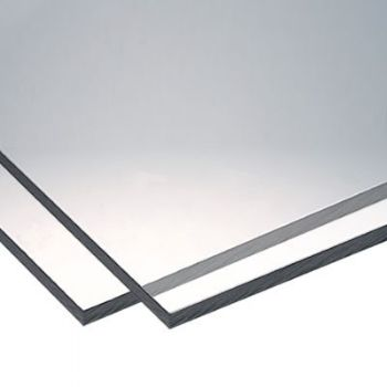 Clear Polycarbonate Sheet 1.5mm - approx 150mm x 300mm
